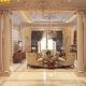 nội thất phòng khách hoàng gia