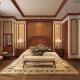 phòng ngủ 18m2 gỗ