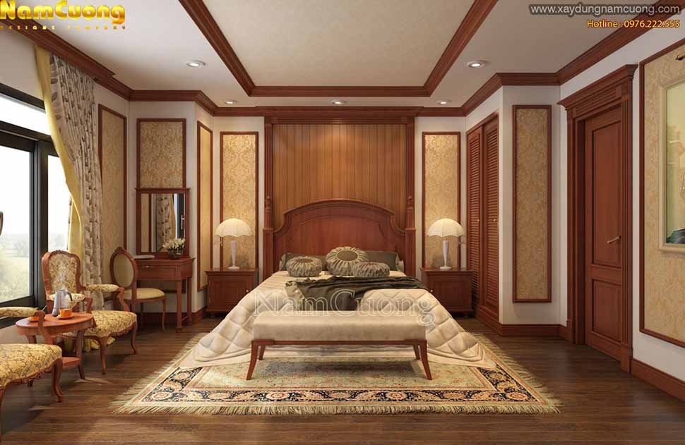 nội thất gỗ tự nhiên được sử dụng