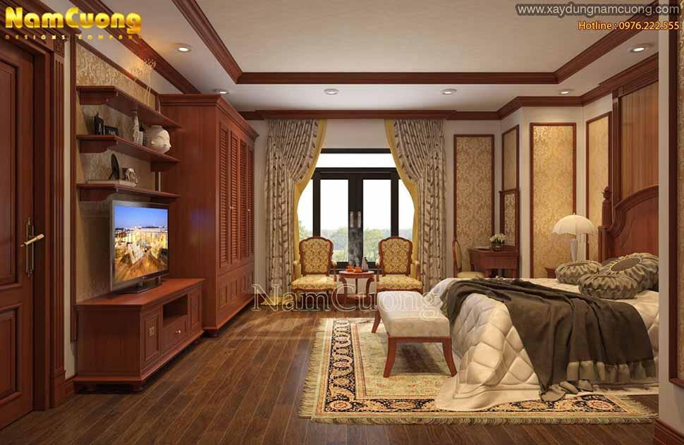 phòng ngủ sang trọng, ấn tượng