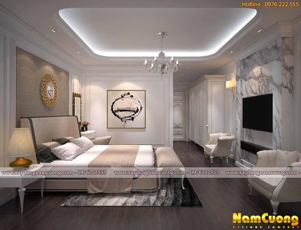 thiết kế nội thất phòng ngủ xinh xắn