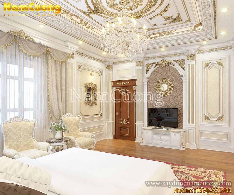 phòng ngủ nội thất pháp đẹp