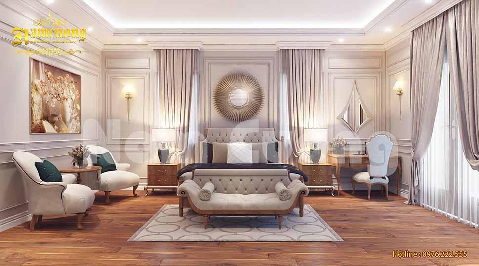 nội thất phòng ngủ luxury