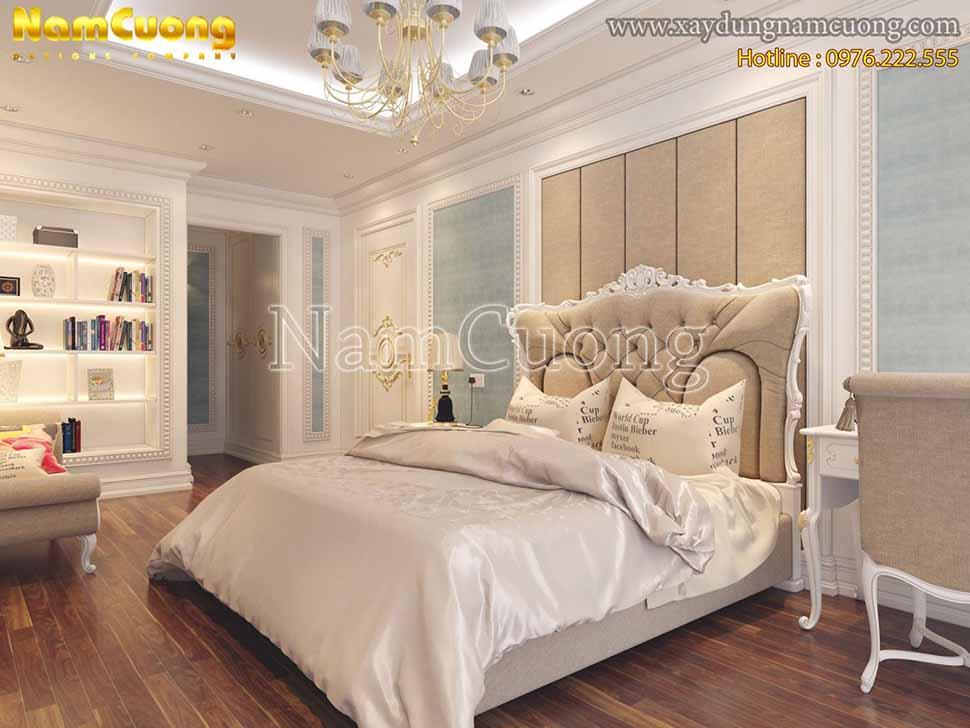 không gian phòng ngủ ấm áp