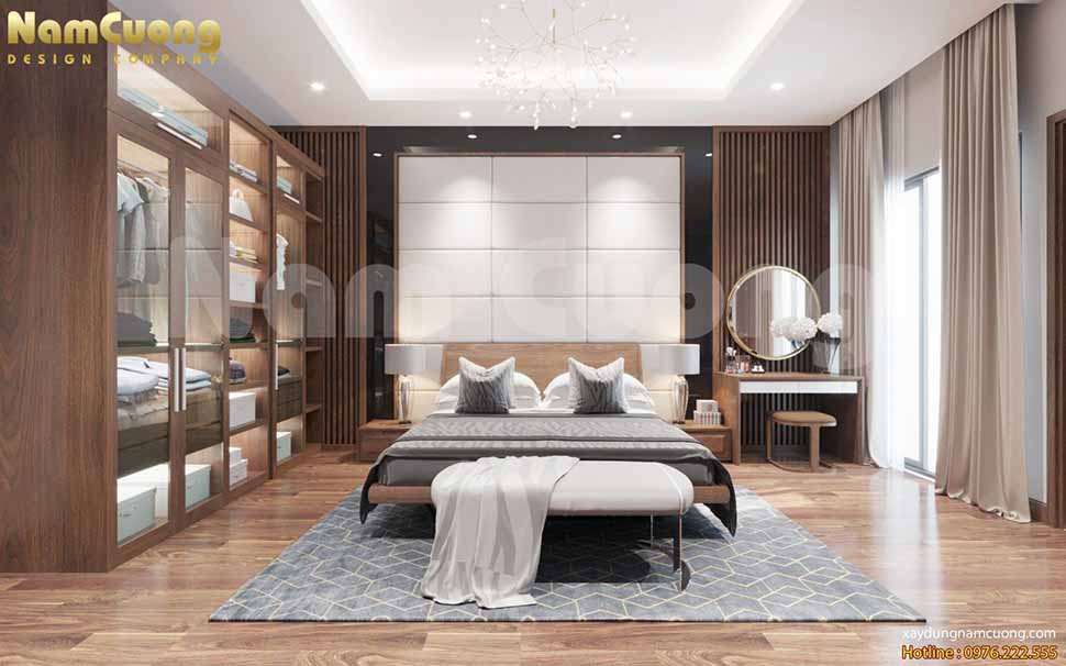 nội thất phòng ngủ nhà ống hiện đại