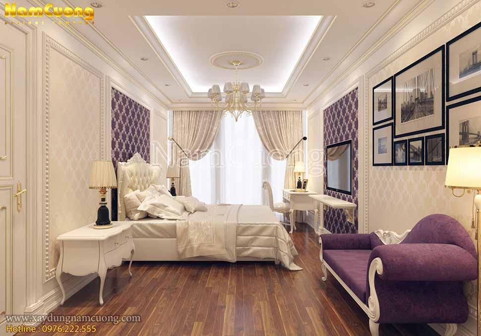 không gian phòng ngủ ấn tượng