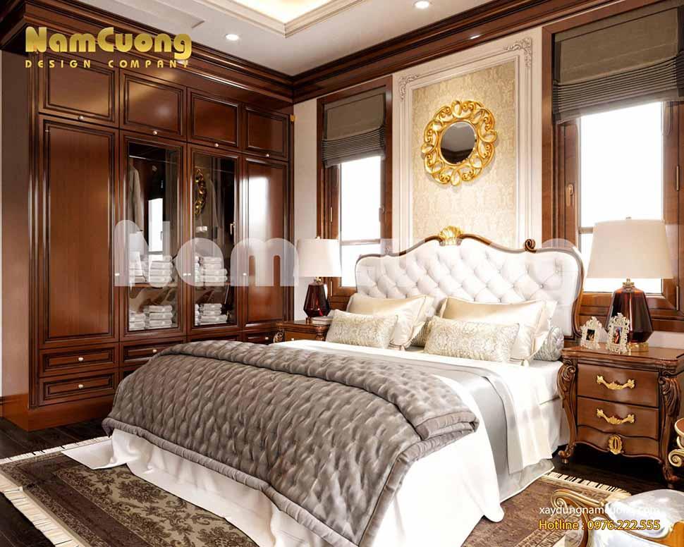 không gian phòng ngủ 2 sang trọng