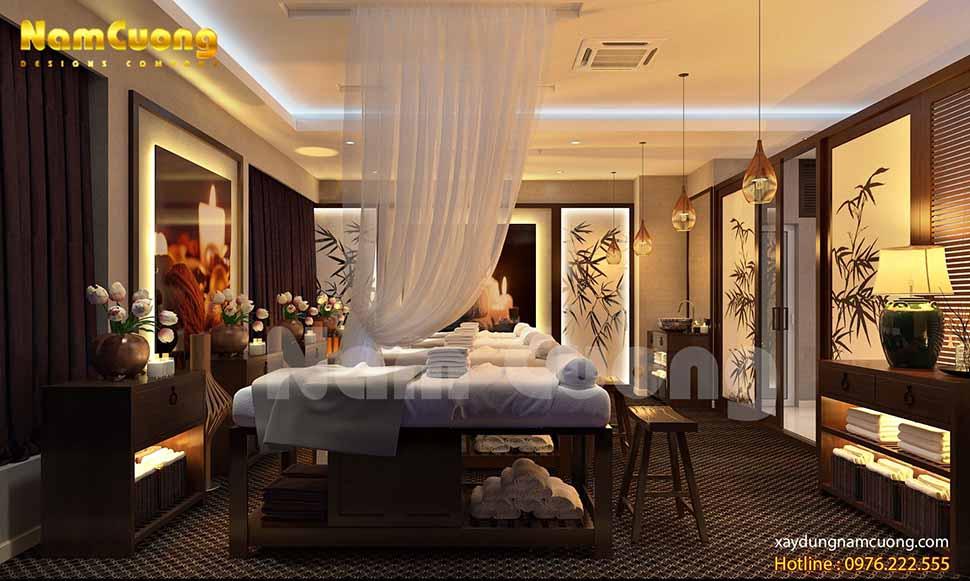 mẫu nội thất spa đẹp tại hải phòng