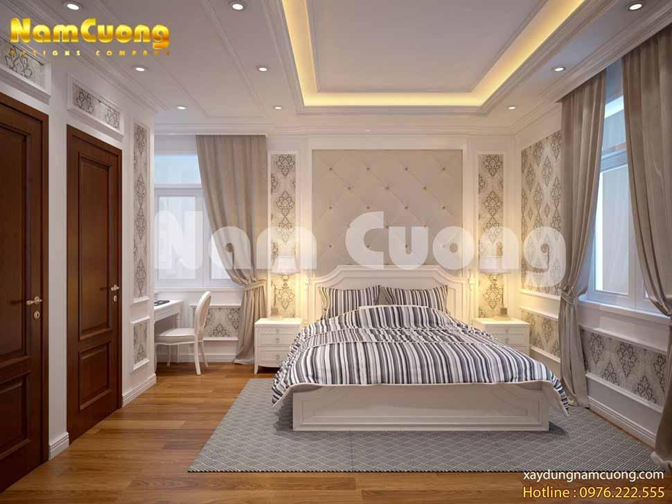 phòng ngủ không gian rộng lớn