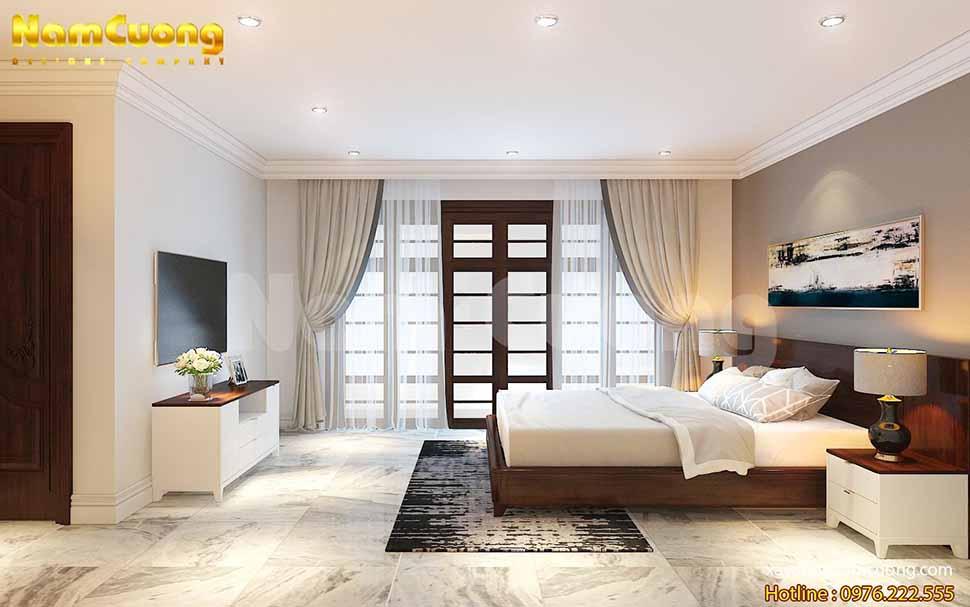 phòng ngủ nội thất thời Pháp