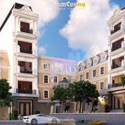Thiết kế nhà phố 4 tầng 4x15m tân cổ điển
