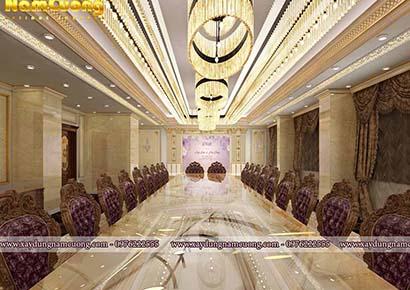 không gian phòng hội họp