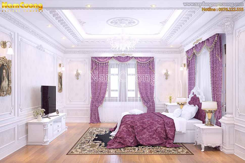phòng ngủ cổ điển Pháp