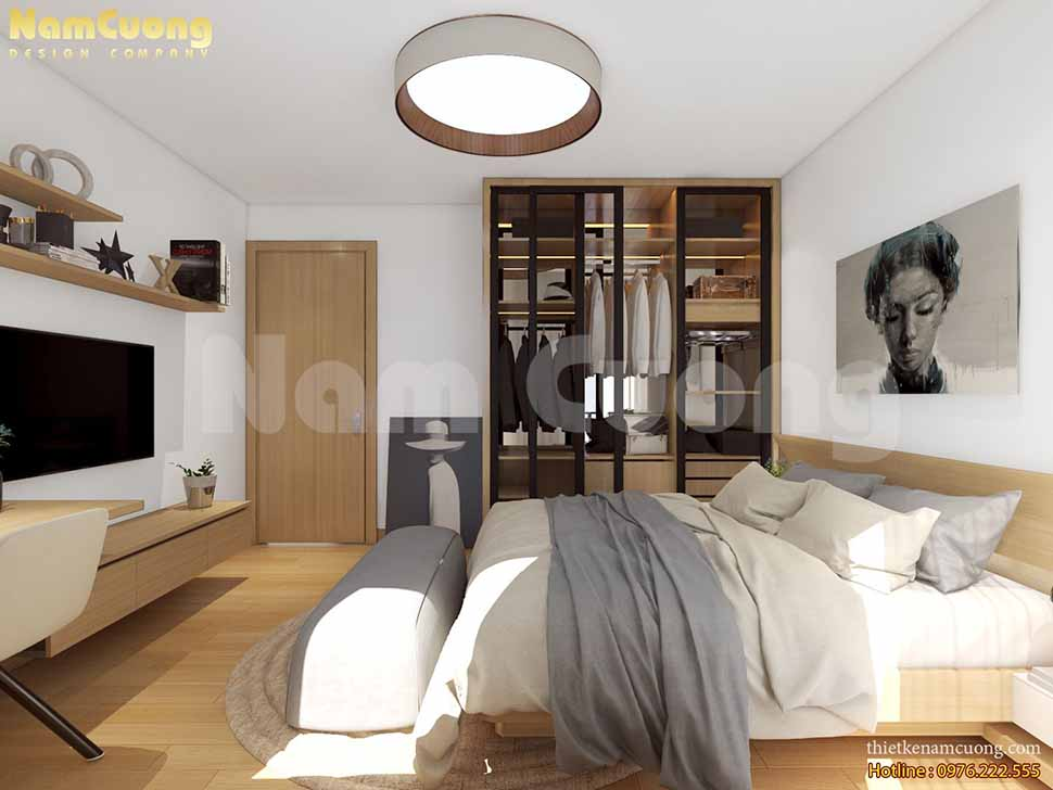 phòng ngủ con trai đơn giản