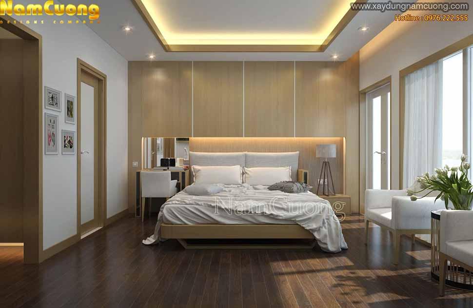 phòng ngủ đẹp chung cư
