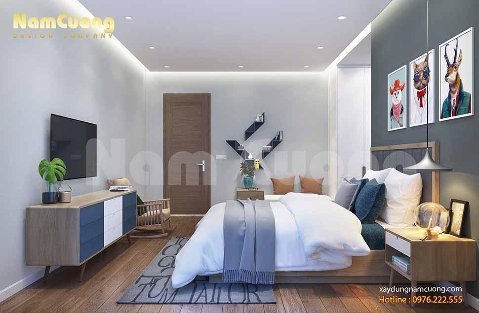 phòng ngủ đẹp dành cho bé trai