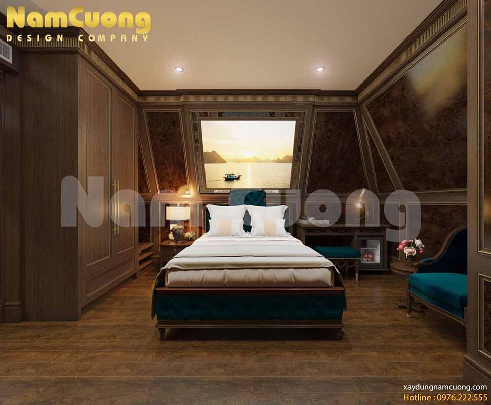 thiết kế phòng ngủ khách sạn 4 sao đẹp