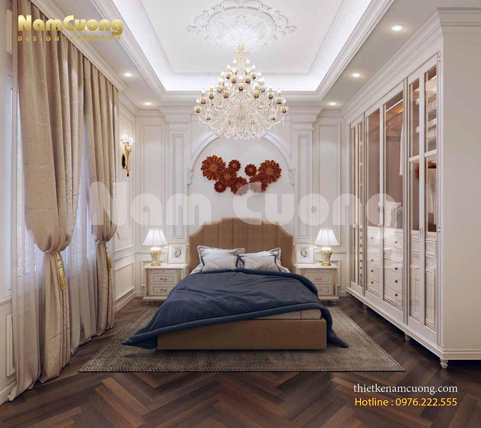 phòng ngủ bố mẹ ở lâu đài
