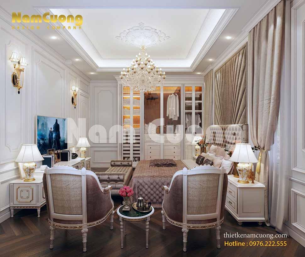 không gian phòng ngủ VIP