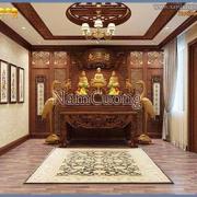 phòng thờ cổ điển Á Đông