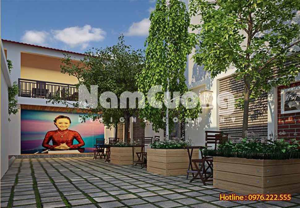 quán cà phê sân vườn đẹp