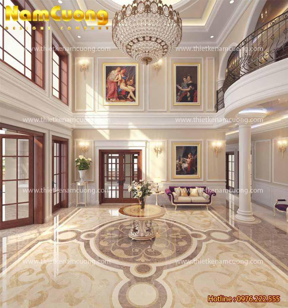 trang trí sảnh khách sạn đẹp