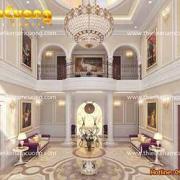 thiết kế sảnh khách sạn ấn tượng