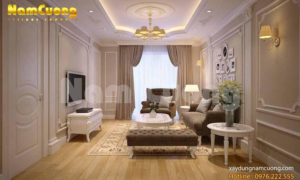 nội thất tân cổ điển đẹp