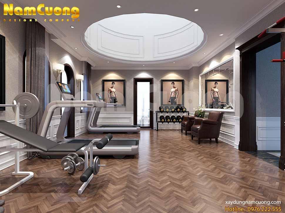 Phòng tập GYM là nơi mọi người trong gia đình thường xuyên sử dụng để vận động nâng cao sức khỏe