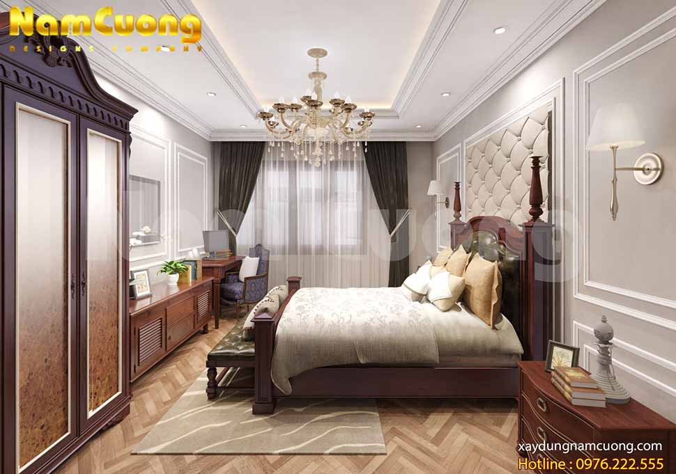 Phòng ngủ thứ 2 tuy nhỏ nhưng đã thể hiện được chất riêng của người thiết kế