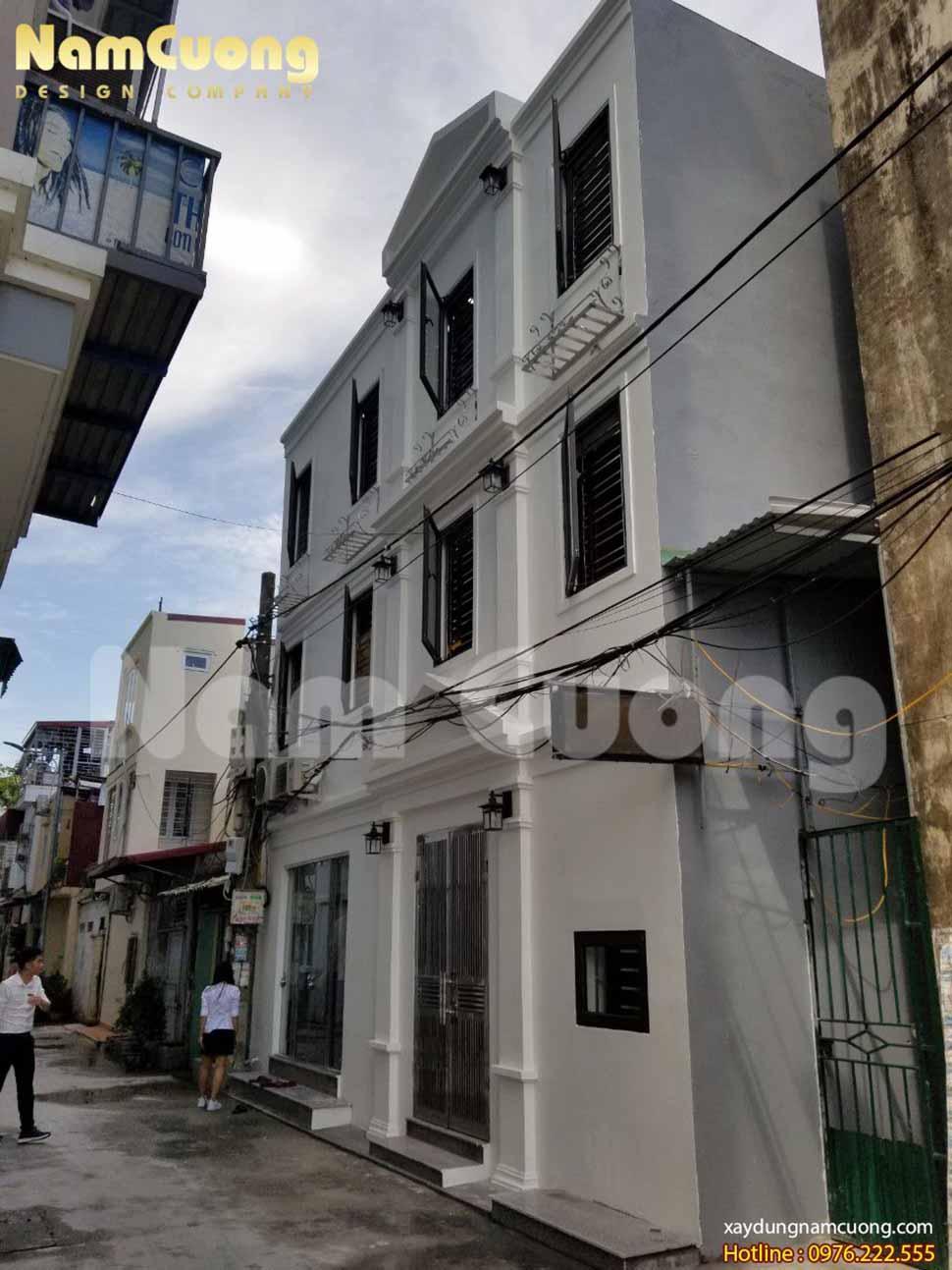 Hiện trạng ngôi nhà trước khi được Nam Cường, cải tạo thi công trọn gói