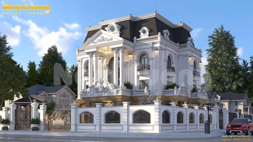 biệt thự lâu đài chateau