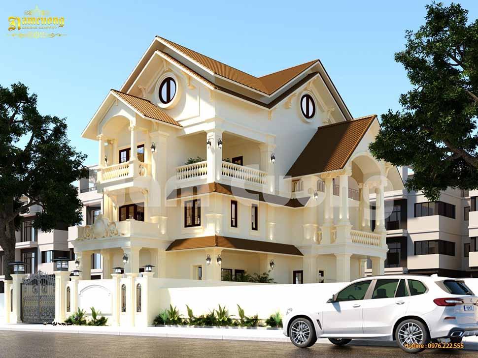 Kiến trúc sang trọng, đẳng cấp của biệt thự Pháp tại Khánh Hòa