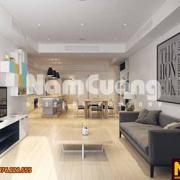 thiết kế căn hộ chung cư hiện đại