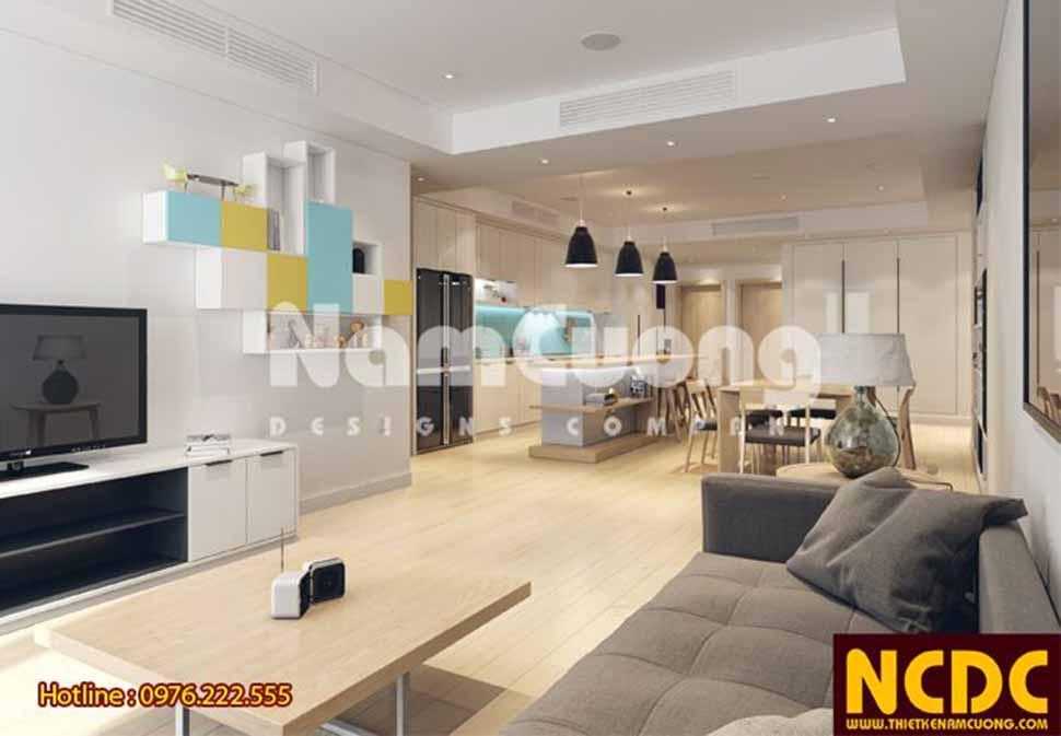 Bộ sô fa nhỏ gọn, tiện lợi cùng lối trang trí phòng khách mang phong cách cá tính rất được người nước ngoài ưa chuộng.