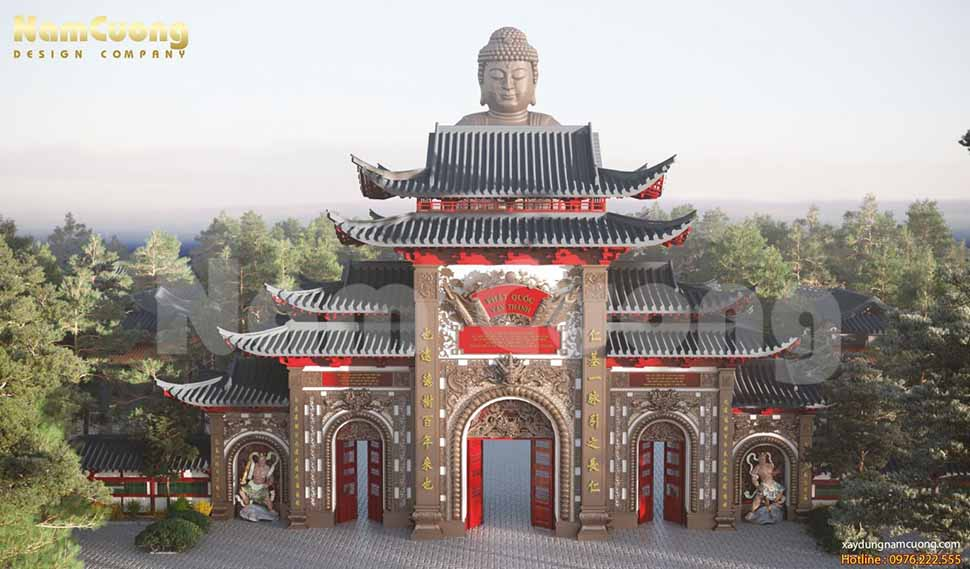 chùa phật quốc vạn thành