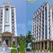 thiết kế khách sạn 300m2