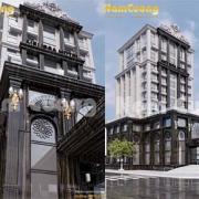 thiết kế khách sạn 400 giường