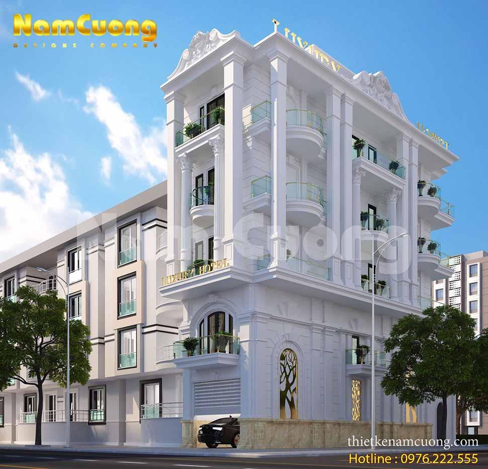 thiết kế khách sạn 5x20