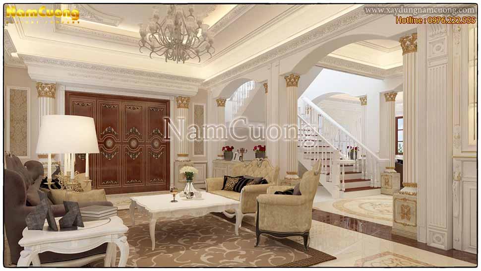 Thiết kế mẫu phòng khách đẹp