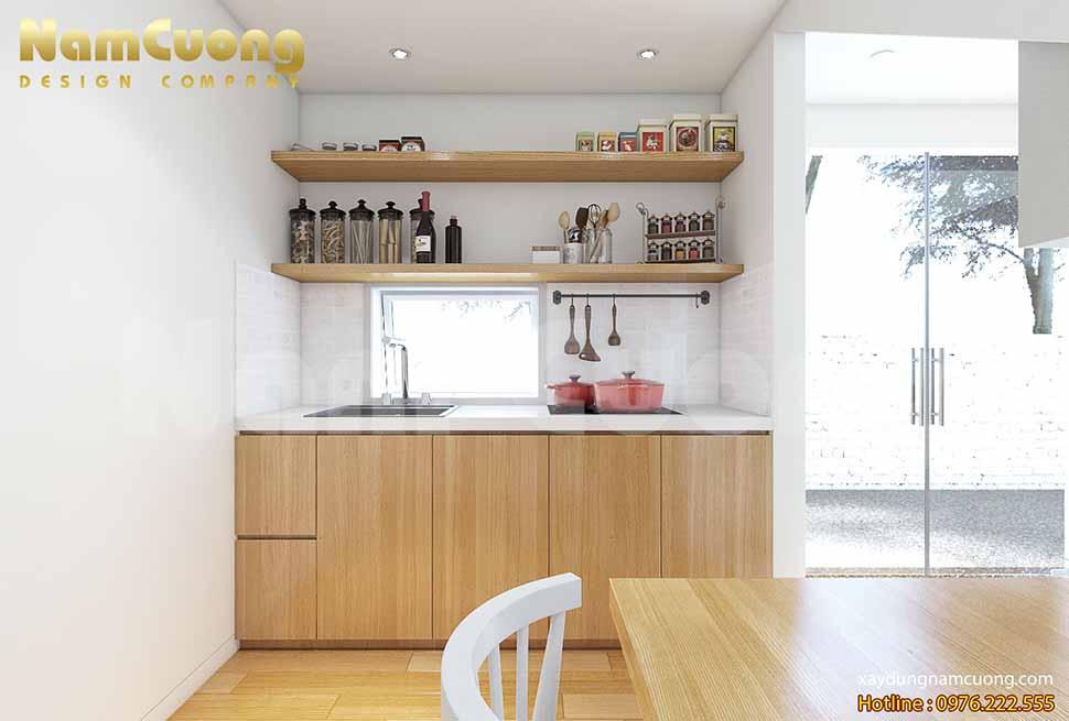 nội thất phòng bếp thiết kế nhà nhỏ