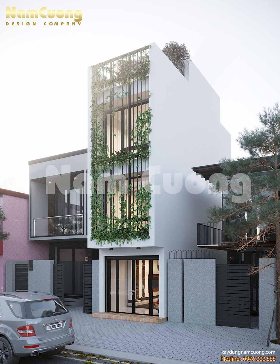 mẫu thiết kế nhà nhỏ kiểu hiện đại