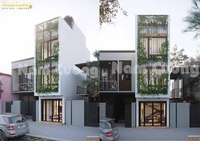 thiết kế nhà nhỏ kiểu hiện đại