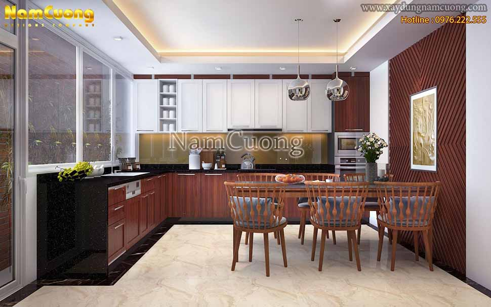 nội thất khu bếp nấu