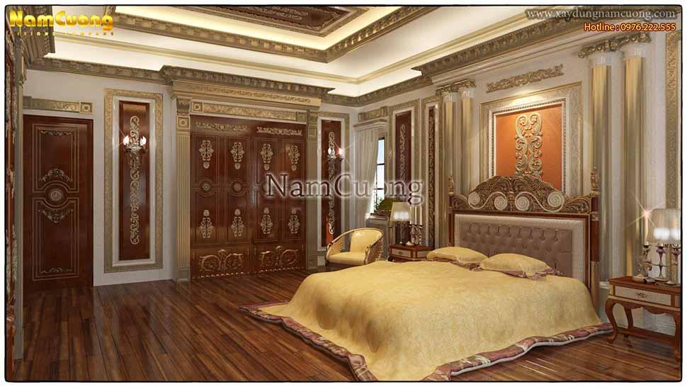 nội thất phòng ngủ kiểu pháp