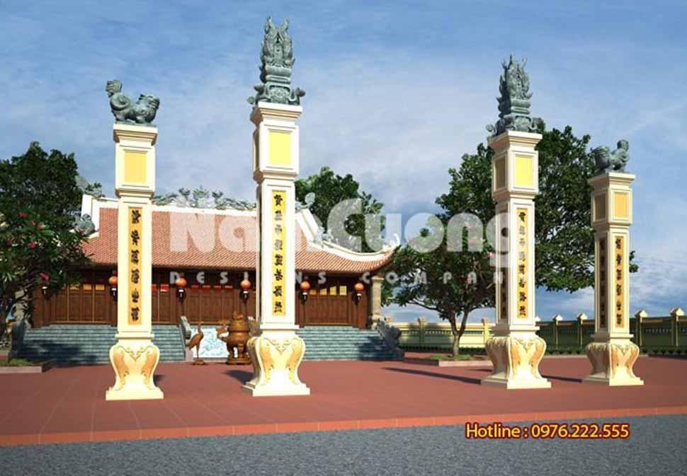 cổng nhà thờ họ