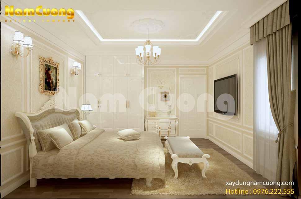 Màu vàng mang đến sự trẻ trung, tinh tế cho phòng ngủ