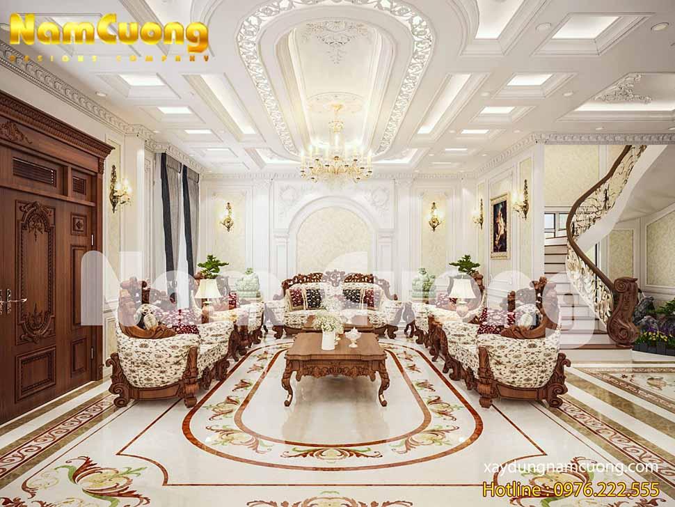 thiết kế nội thất biệt thự vinhomes