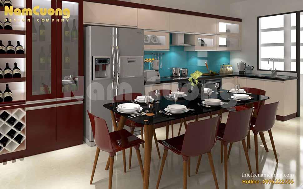 Phòng bếp ăn