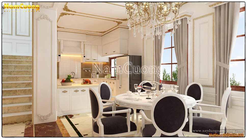 thiết kế phòng bếp 30m2